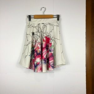 Dresses & Skirts - Eclipse floral watercolour skirt Sz S